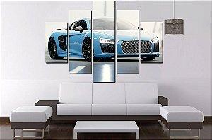 Quadro 5 Audi R8 100cm X 68cm Lux
