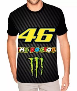 Camisa Estampa Full Valentino Rossi The Doctor 46