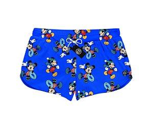 Short Feminino Moda Praia Patricinha Mickey