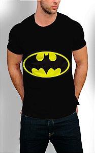 Camiseta Longline Estampa Full Batman