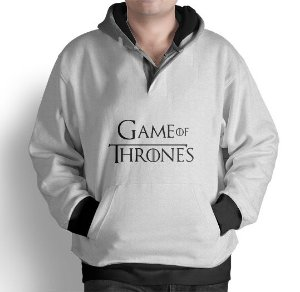 Blusa Moletom Com Capuz Game Of Thrones