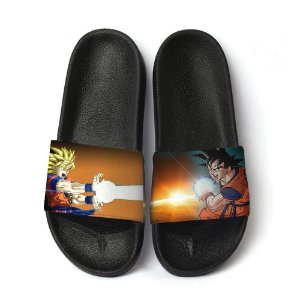 Chinelo Slide Sandalia Masculina Estampa Dragon Ball