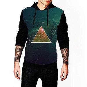 Blusa De Frio Estampa Full Triangulo Tumblr Moletom Unissex