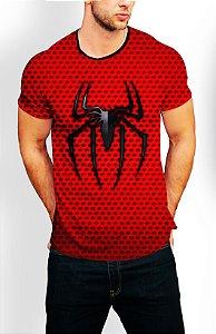 Camiseta Longline Estampa Full Homem Aranha