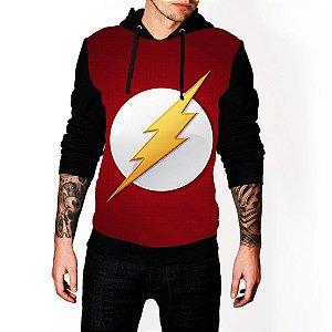 Blusa De Frio Full Estampado Flash Moletom Unissex
