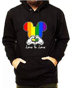 Blusa De Frio LGBT Estampa Full Moletom Unissex