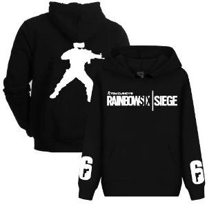 Blusa De Frio Estampa Rainbow Six Siege Full Moletom Unissex