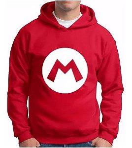 Blusa De Frio Mario Estampa Full Moletom Unissex