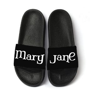 Chinelo Slide Sandalia Masculina Estampa Mary Jane