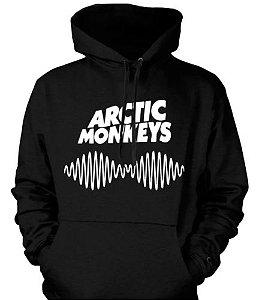 Blusa De Frio Arctic Monkeys Estampa Full Moletom Unissex