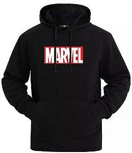 Blusa De Frio Marvel Estampa Full Moletom Unissex
