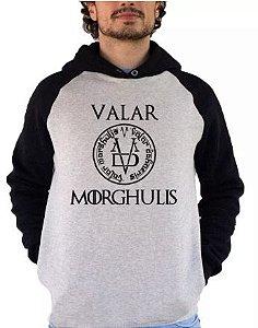 Blusa De Frio Estampa Game Of Thrones Valar Morghulis Full Moletom Unissex