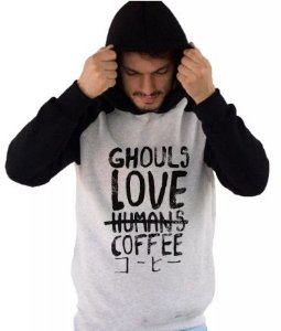 Blusa De Frio Estampa Tokio Ghoul Full Moletom Unissex