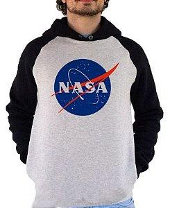 Blusa De Frio Estampa NASA Full Moletom Unissex