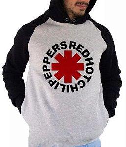 Blusa De Frio Estampa Red Hot Chili Peppers Full Moletom Unissex