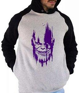 Blusa De Frio Estampa Thanos Vingaores Full Moletom Unissex