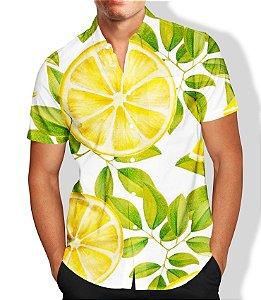 Camisa Lançamento Masculina Social Estampada