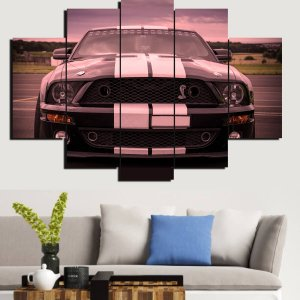 Painel Mosaico 5 Partes Mustang Shelby