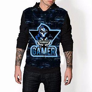 Blusa De Frio Gamer Game Estampa Full Moletom Unissex