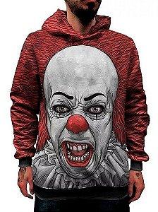 Blusa Moletom It A Coisa Palhaço Pennywise Terror Evil Clown