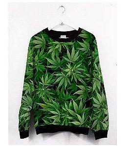 Blusas Femininas Erva Verde Weed Green 420 Marijuana