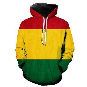 Blusa Agasalho Moletom Full Bob Marley Tumblr