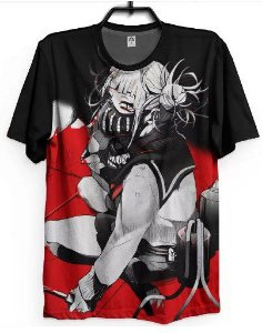 Camiseta Boku No Hero Himiko Toga Blood Full Anime Dark Geek
