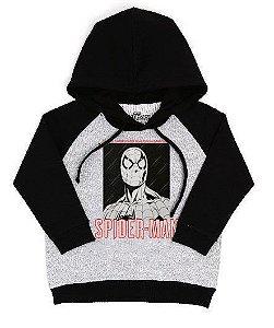 Blusa De Frio Homem Aranha Estampa Full Moletom Infantil