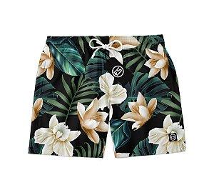 Short Bermuda Ney Moda Praia Mauricinho Floral