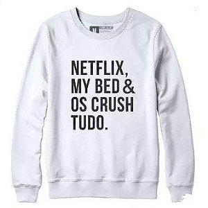 Blusa de Frio Vinil Netflix