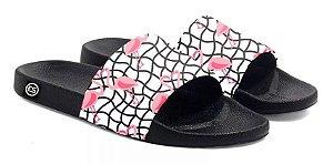 Chinelo Flamingo Slide Sandalia Unissex Top