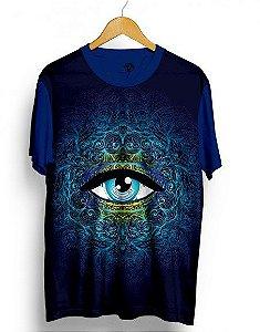 Camiseta Camisa Masculina Full Olho