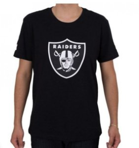 Camiseta Camisa Full Estampada Raiders