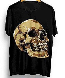 Camiseta Camisa Full Estampada Caveira