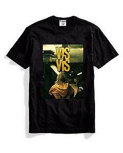 Camisa Camiseta Estampa Vis a Vis