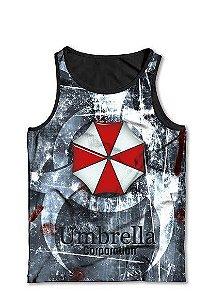 Camiseta  Regata Full Print Umbrella