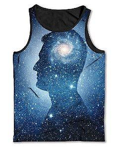 Camiseta  Regata Full Print Mente Universo