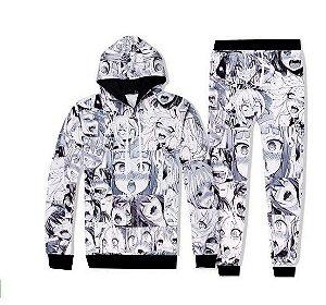 Conjunto Blusa Moletom + Calça = Naruto