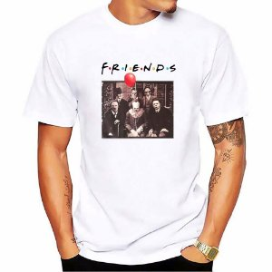 Camisa Camiseta Halloween Friends 2019