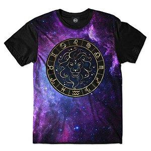 Camisa Camiseta Estampa Full SIGNOS - Leão