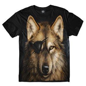 CAMISETA WOLF - LOBO - ANIMAIS