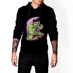 Blusa Agasalho Casaco Moletom Hulk