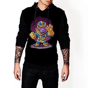 Blusa Agasalho Casaco Moletom Thanos