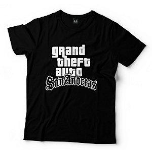 Camisa Camiseta GTA SAN ANDREAS