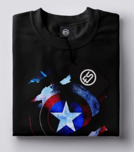 Camisa Camiseta Capitão AMERICA