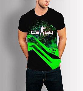 Camisa Camiseta Lançamento CS GO Razer