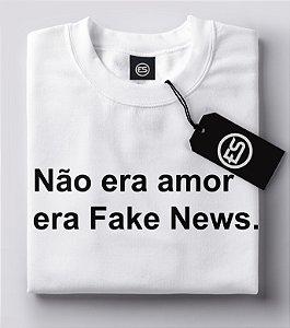 Lançamento Camiseta Carnaval Frases - Não era amor