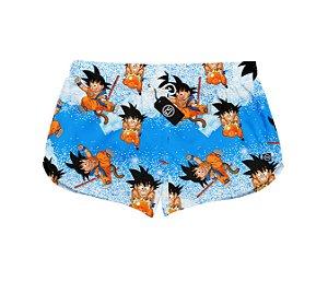 Short Feminino Moda Praia Patricinha - Dragon Ball - Clássico