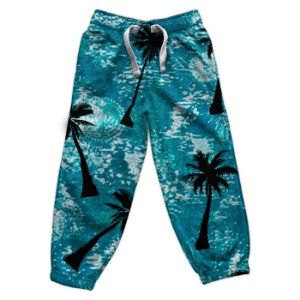 Calça Moletom Masculina Swag Tropical