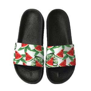 Chinelo Slide Sandalia Unissex Top - Melancia Tropical